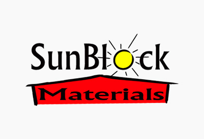 sunblock materials logo
